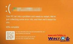 win7系统出现橙色屏幕的处理办法